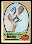 1970 Topps #203   Richie Petitbon Front Thumbnail