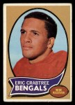 1970 Topps #58   Eric Crabtree Front Thumbnail