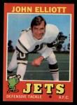 1971 Topps #153   John Elliott Front Thumbnail