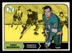 1968 Topps #53  Andre Boudrias  Front Thumbnail