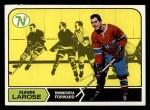 1968 Topps #51  Claude Larose  Front Thumbnail
