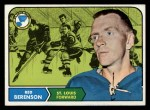 1968 Topps #114  Red Berenson  Front Thumbnail