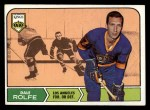 1968 Topps #41  Dale Rolfe  Front Thumbnail