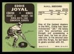 1970 Topps #39  Eddie Joyal  Back Thumbnail