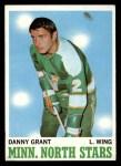 1970 Topps #47  Danny Grant  Front Thumbnail