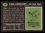 1969 Topps #37   Spider Lockhart Back Thumbnail