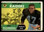 1968 Topps #12  Kent McCloughan  Front Thumbnail