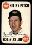 1968 Topps Game Inserts #9    Brooks Robinson  Front Thumbnail