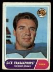 1968 Topps #70   Dick Van Raaphorst Front Thumbnail