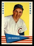 1961 Fleer #94   Lou Boudreau Front Thumbnail