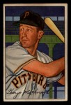 1952 Bowman #108   George Metkovich Front Thumbnail