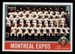 1976 Topps #216  Expos Team Checklist  -  Karl Kuehl Front Thumbnail