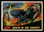 1962 Bubbles Inc Mars Attacks #12   Death in the Cockpit  Front Thumbnail