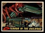 1962 Bubbles Inc Mars Attacks #34   Terror in the Railroad  Front Thumbnail