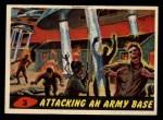 1962 Bubbles Inc Mars Attacks #3   Attacking an Army Base Front Thumbnail
