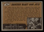 1962 Bubbles Inc Mars Attacks #4   Saucers Blast Our Jets Back Thumbnail