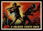 1962 Bubbles Inc Mars Attacks #18   Soldier Fights Back  Front Thumbnail