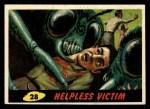 1962 Bubbles Inc Mars Attacks #28   Helpless Victim  Front Thumbnail