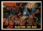 1962 Bubbles Inc Mars Attacks #43   Blasting the Bug  Front Thumbnail