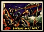 1962 Bubbles Inc Mars Attacks #6   Burning Navy Ships  Front Thumbnail