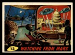 1962 Bubbles Inc Mars Attacks #13   Watching from Mars Front Thumbnail