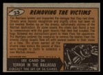 1962 Bubbles Inc Mars Attacks #33   Removing the Victims  Back Thumbnail