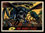 1962 Bubbles Inc Mars Attacks #27   The Giant Flies  Front Thumbnail