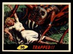 1962 Bubbles Inc Mars Attacks #30   Trapped Front Thumbnail