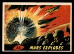 1962 Bubbles Inc Mars Attacks #54   Mars Explodes  Front Thumbnail