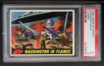 1962 Bubbles Inc Mars Attacks #5   Washington in Flames  Front Thumbnail