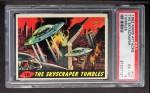 1962 Bubbles Inc Mars Attacks #10   The Skyscraper Tumbles Front Thumbnail