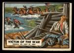 1962 Topps Civil War News #66   Victim of the War Front Thumbnail