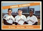 1966 Topps #199  ChiSox Sluggers  -  Johnny Romano / Floyd Robinson / Bill Skowron Front Thumbnail