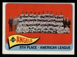 1965 Topps #293  Angels Team  Front Thumbnail