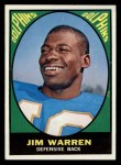 1967 Topps #81   Jim Warren Front Thumbnail