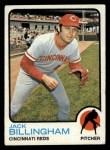 1973 Topps #89   Jack Billingham Front Thumbnail