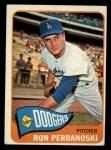 1965 Topps #484   Ron Perranoski Front Thumbnail