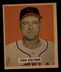 1949 Bowman #125   Ken Keltner Front Thumbnail