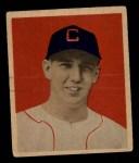 1949 Bowman #12   Cass Michaels Front Thumbnail