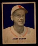 1949 Bowman #4 FRT Jerry Priddy  Front Thumbnail