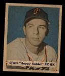 1949 Bowman #135   Stan Rojek Front Thumbnail