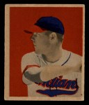 1949 Bowman #43   Dale Mitchell Front Thumbnail