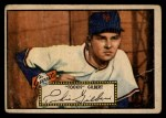 1952 Topps #61 RED Tookie Gilbert  Front Thumbnail