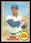 1968 Topps #360   Willie Horton Front Thumbnail