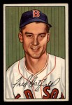1952 Bowman #153   Fred Hatfield Front Thumbnail