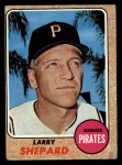 1968 Topps #584  Larry Shepard  Front Thumbnail