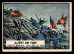 1962 Topps Civil War News #56  Burst of Fire  Front Thumbnail