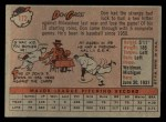 1958 Topps #172   Don Gross Back Thumbnail