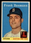 1958 Topps #167   Frank Baumann Front Thumbnail