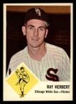 1963 Fleer #9   Ray Herbert Front Thumbnail